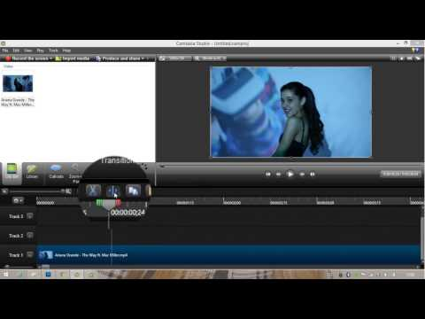 +Camtasia video effects