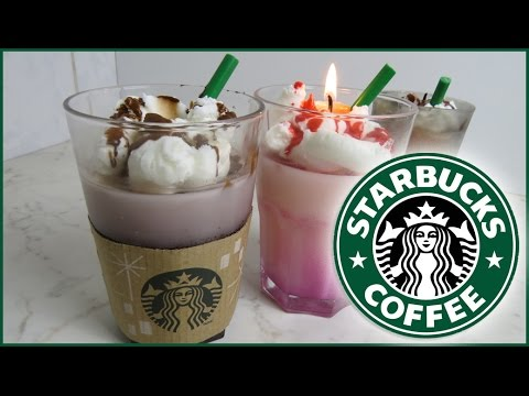starbucks caramel frappuchino kerzen selber machen diy youtube. Black Bedroom Furniture Sets. Home Design Ideas