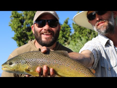 FLY FISHING THE YELLOWSTONE RIVER IN MONTANA
