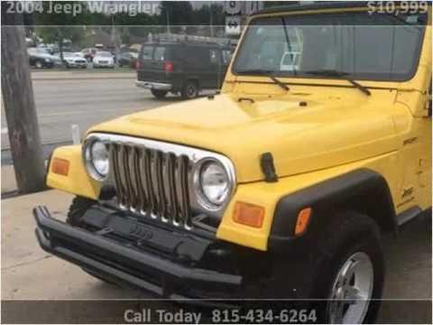 2004 jeep wrangler used cars ottawa il youtube for Ken motors ottawa il