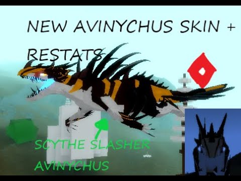 New Avinychus Skin Restats Dinosaur Simulator Youtube