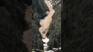 Spectacular Avalanche In Kaçkar Mountains