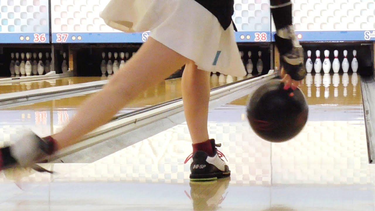 ボウリング女子の練習風景41(Bowling Practice)2020/7