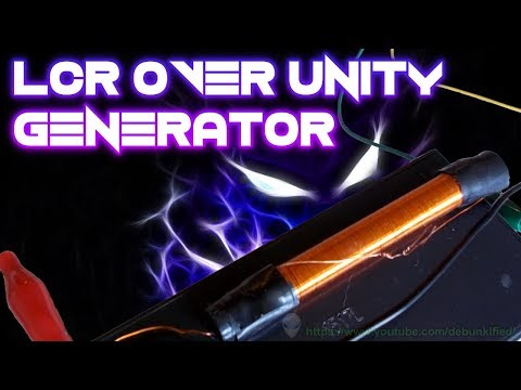 LCR Over Unity Generator