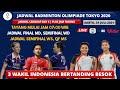 Jadwal Badminton Olimpiade Tokyo 2021 Hari ini Day8: Jadwal SF WD, Final MD, QF MS | 31 Juli 2021
