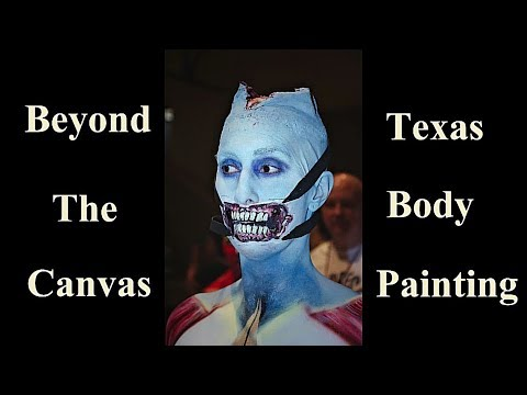 2018 Beyond The Canvas Body Paint | Texas Bodypainting Contest