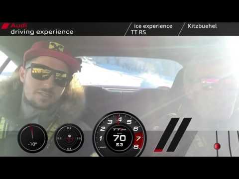 Marcel Hirscher - Audi driving experience 21. Jänner 2017