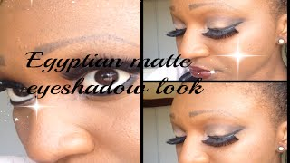 Egyptian|Matte|Eye|shadow|look!! Thumbnail