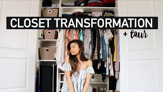 Closet Transformation & Organization | CLOSET CLEAR OUT