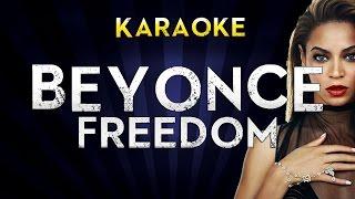 Beyonce Ft. Kendrick Lamar - Freedom   LOWER Key Karaoke Instrumental Lyrics Cover Sing Along