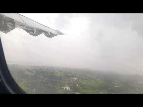[LAOS] Bad Weather Flight Landing at Pakse-Champasak Province