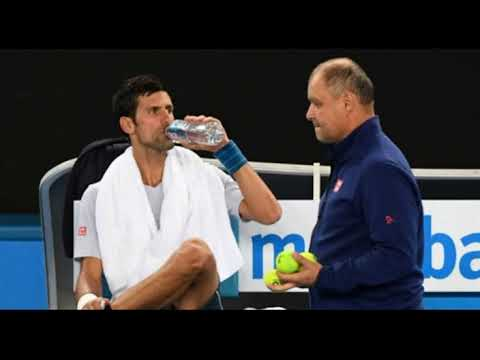 Great to see the reunion of long time coach Marian Vajda, with Djokovic, after their split in 2016.