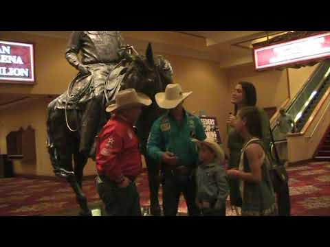 The Rodeo Roundup at the PBR World Finals Las Vegas 2017