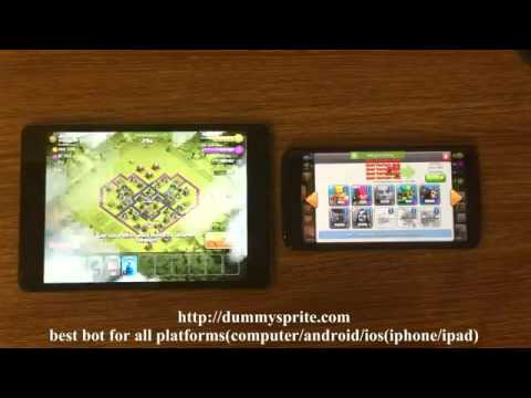Clash of clans bot on IOS AND ANDROID