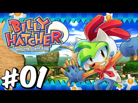 Billy Hatcher and the Giant Egg (Gamecube) - Part 1 - (BLIND)