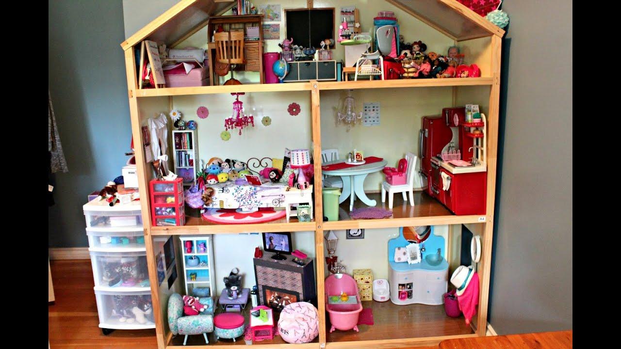 Huge Barbie Dollhouse Tour