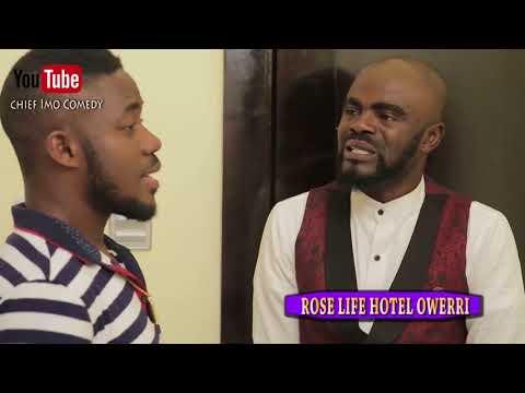 Chief Imo Comedy || chief imo Room service boy (Okwu na uka) episode 20