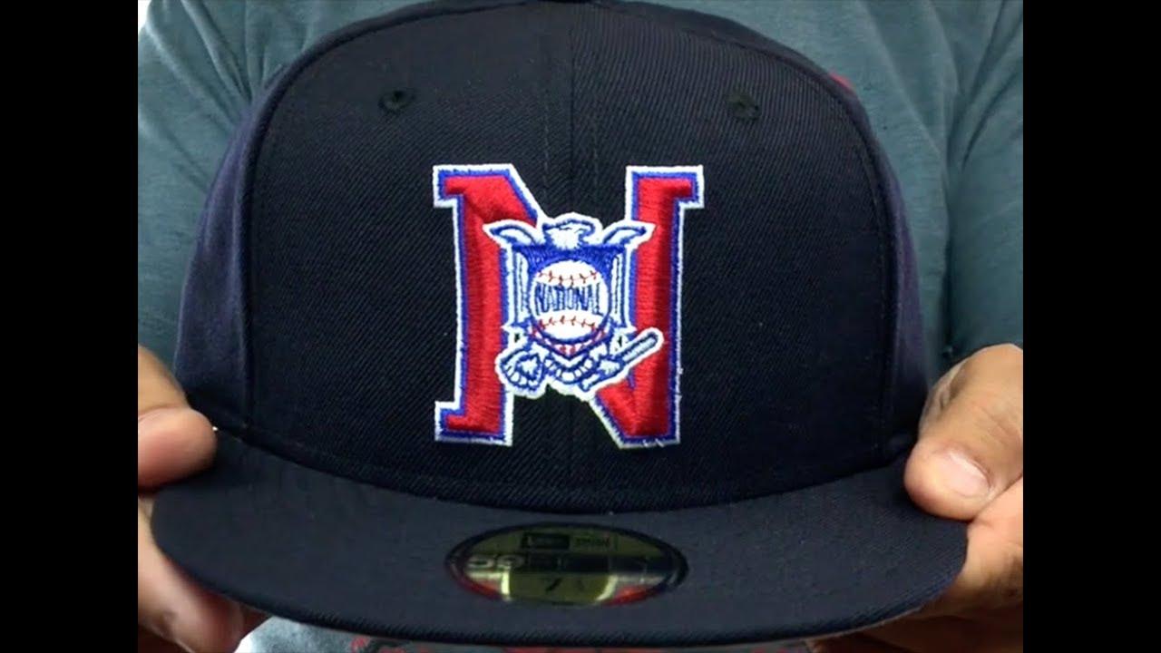 2bfe62eed7ed3 National League  MLB UMPIRE  Navy Hat by New Era - YouTube