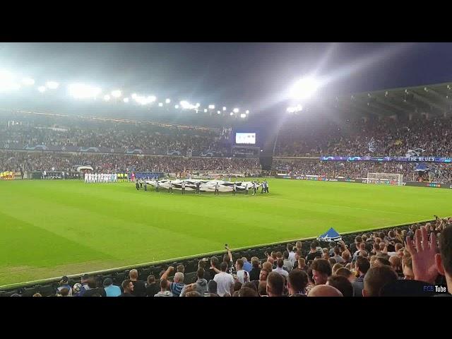2019-2020 - Club Brugge-Lask Linz - Champions League Hymne