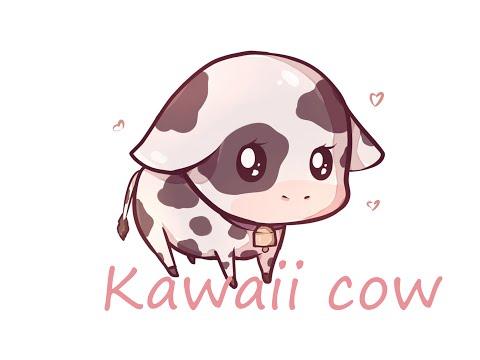 Speed Paint kawaii Cow