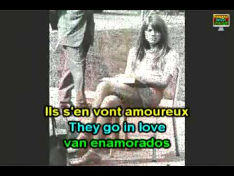 Learn French with Françoise Hardy - Tous les garçons