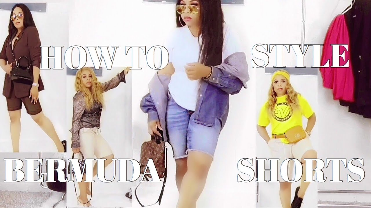 [VIDEO] - How To Style Bermuda Shorts 2019 ( Long  Shorts ) Outfit Ideas  LOOKBOOK 2