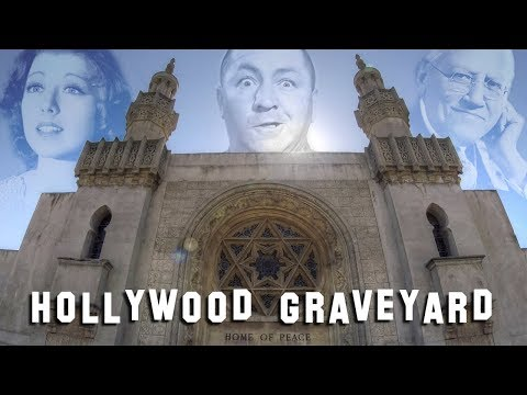 FAMOUS GRAVE TOUR - Home of Peace (Curly Howard, Carl Laemmle, etc.)