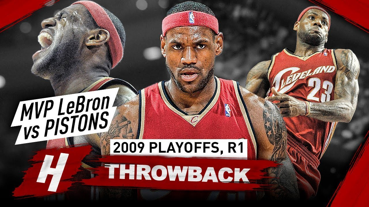 871b4874a6b MVP LeBron James in His Prime Years! Full Series Highlights vs Pistons 2009  NBA Playoffs - BEAST!