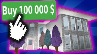 BUYING 100K COINS IN ROBLOX BLOXBURG!