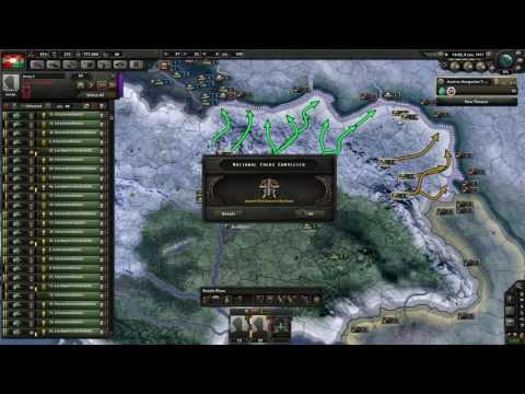 Hearts of Iron 4 Great War Mod - Osztrák-Magyar Monarchia #1 (HUN)