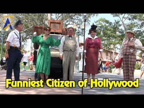Funniest Citizen of Hollywood - Streetmosphere at Disney's Hollywood Studios