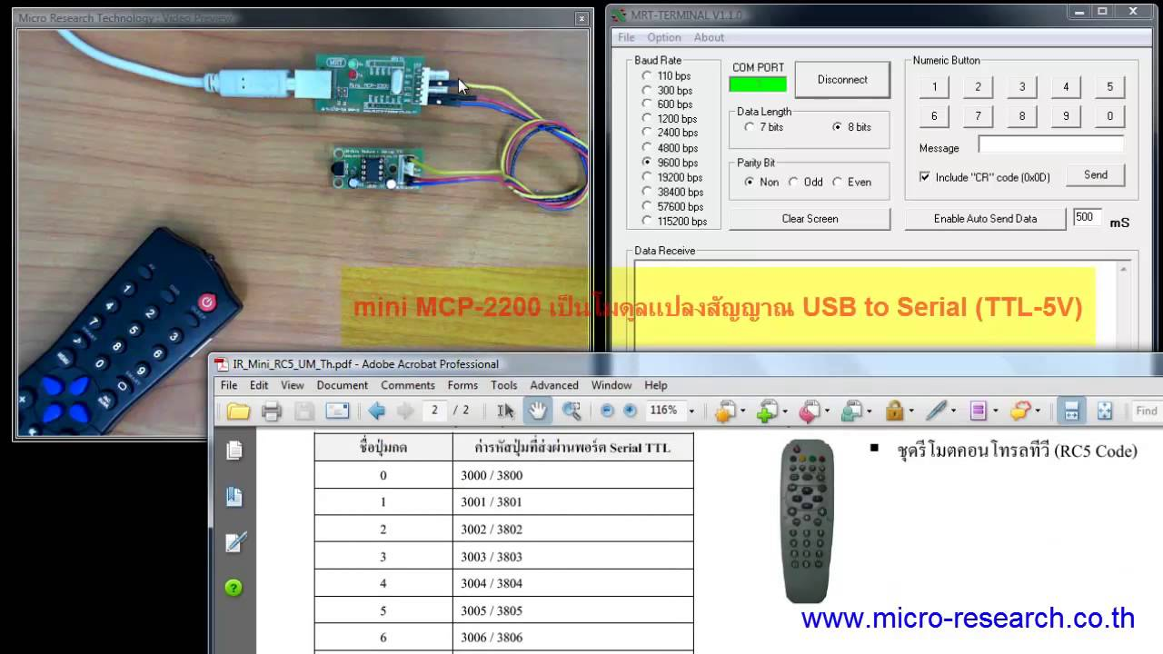 Ir Mini Rc5 Introduction Youtube Universal Rc6 Transceiver With Pic16f628