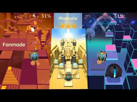 Rolling Sky - Pharaohs (Egypt 2.0) & Comparison VS Egypt | Fanmade