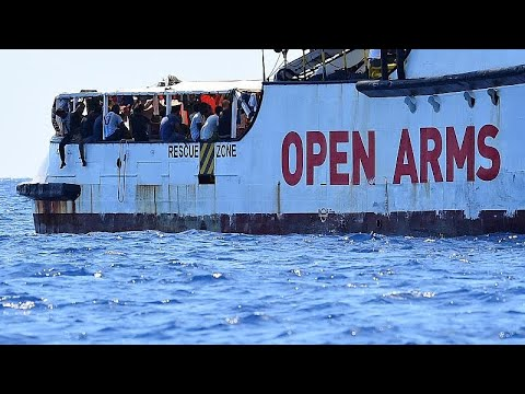 France 24:Open Arms captain says migrants are 'broken', ship is like a ticking bomb