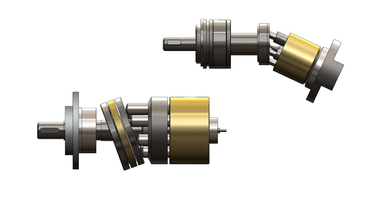 Аксиально-поршневой насос и гидромотор устройство и принцип работы