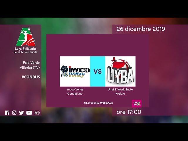 Conegliano - Busto Arsizio | Speciale | 13^ Giornata | Lega Volley Femminile 2019/20