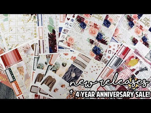 New Releases + 4 Year Anniversary Sale!