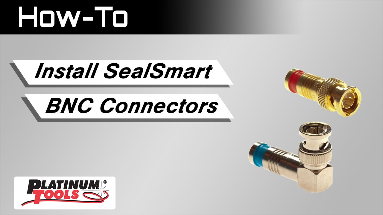How To Install Sealsmart Bnc Connectors Youtube Rg58 Coaxial Cable Connector Schematics