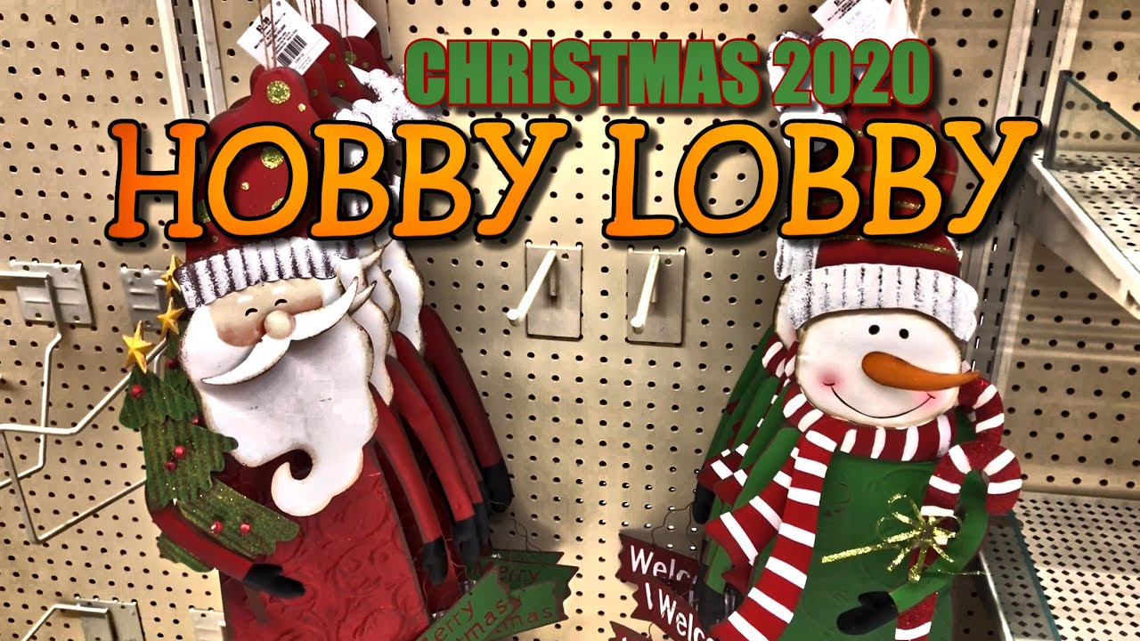 Whats Is New In Hobby Lobby For Christmas 2020? Christmas Decor 2020 • Hobby Lobby Christmas Decor • CHRISTMAS IS