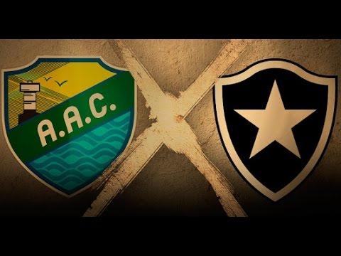 Coruripe - Al 0 x 1 Botafogo Gols - Copa do Brasil 2016