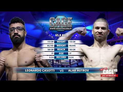 CAGE48 Leonardo Casotti vs Alar Hutrov Fight Highlight