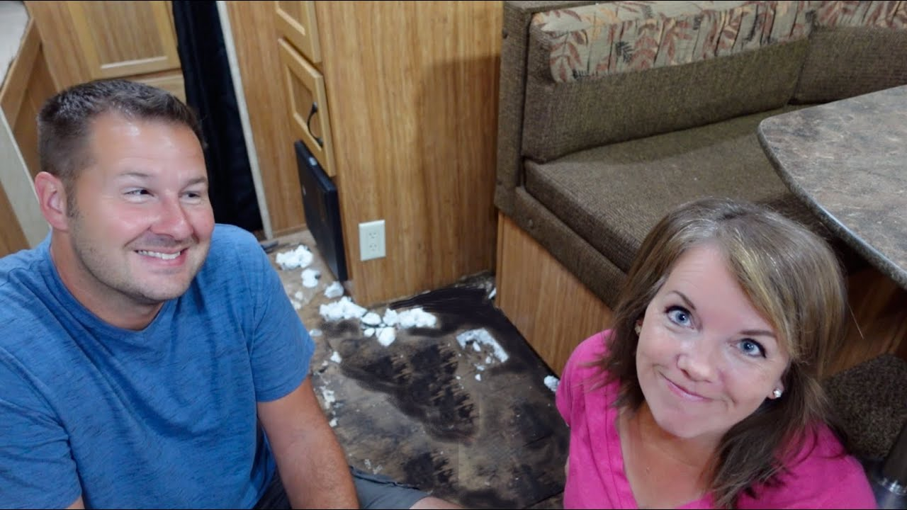 Finding More Water Damage in our New Camper