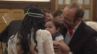 Образец онлайн-трансляции свадьбы в Первом (Грибоедовском) дворце бракосочетания