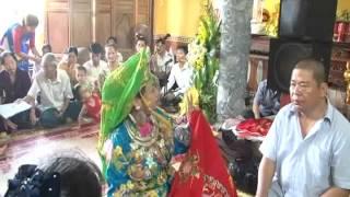 Đồng thầy Thanh Tâm Lào Cai hầu các giá chúa
