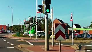 Eine Autofahrt vom Otterndorfer Deich nach Cuxhaven Duhnen