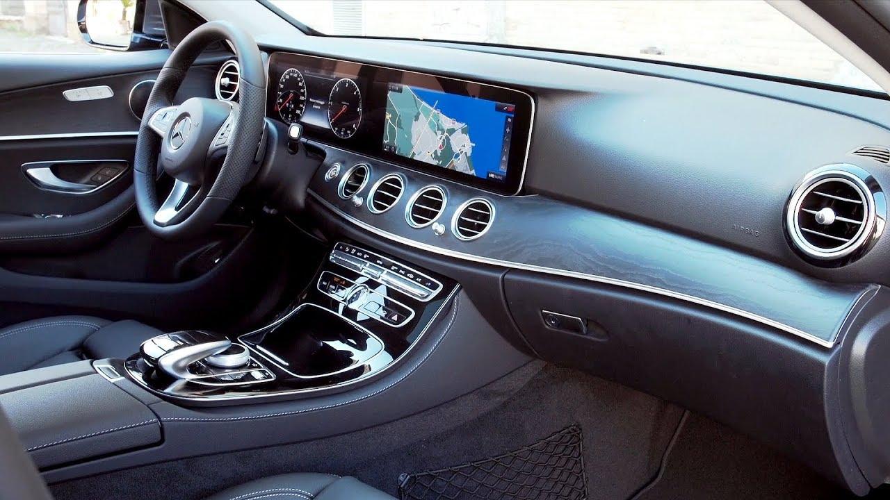 2019 mercedes-benz e-class all-terrain interior  italy