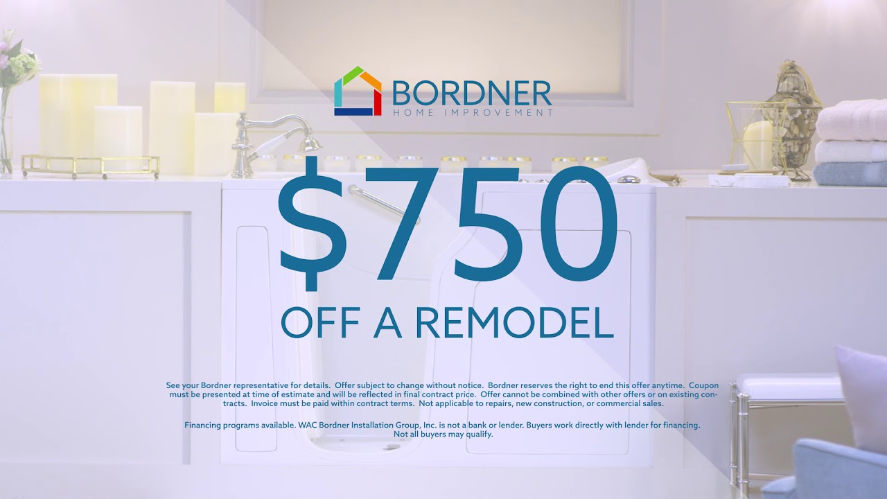 Bordner Home Improvement Walk-In Tub - Grandma Time - YouTube