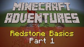 REDSTONE BASICS IN MINECRAFT PART 1 | Minecraft Adventures | The Saturday Geeks