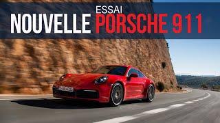 Essai Porsche 911 Type 992 (2019)