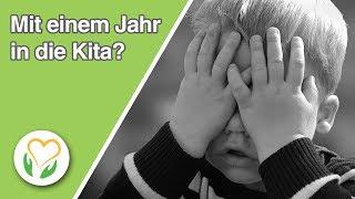 Mit 1 Jahr In Die Kita Die Risiken Der Frühkindlichen Fremdbetreuung. Prof. Dr. Eva Rass